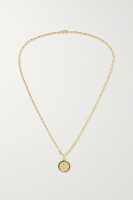 Jemma Wynne 18-karat Gold Multi-stone Necklace