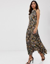 Closet London Closet maxi tie dress