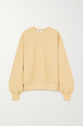 Frankie Shop Vanessa Cotton-jersey Sweatshirt - Yellow