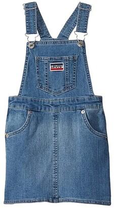 Levi's Kids Woven Jumper Dress (Little Kids) (Annex) Girl's Clothing