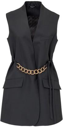 Givenchy Chain Embellished Sleeveless Jacket