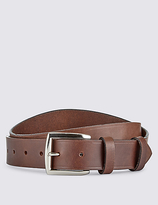 Blue Harbour Leather Double Keeper Belt
