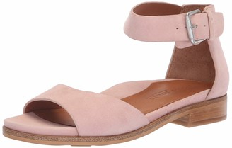 Gentle Souls by Kenneth Cole Women's Gracey Flat Sandal with Ankle Strap