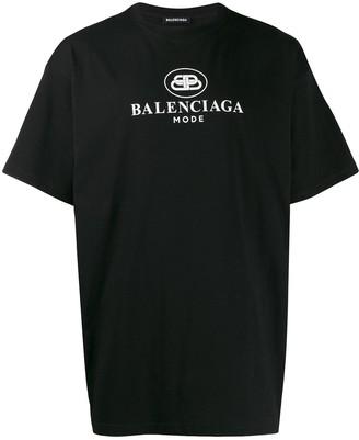 Balenciaga New BB mode regular T-shirt