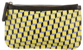 Pierre Hardy Printed Canvas Clutch