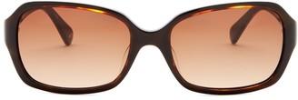 Diane von Furstenberg 56mm Lisette Rectangle Sunglasses