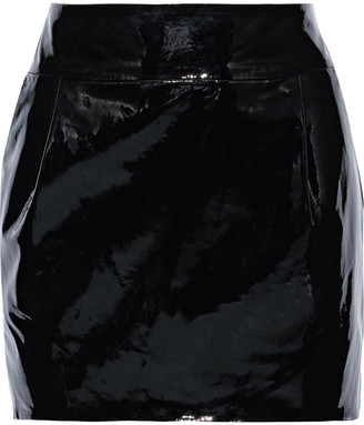 Alexandre Vauthier Patent-leather Mini Skirt