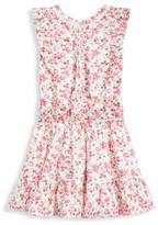 Ralph Lauren Girl's Floral Ruffle Dress