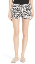 Joie Women's Merci Leopard Print Shorts