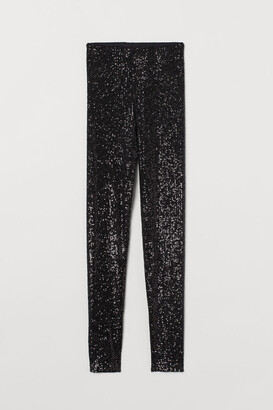 H&M Sequined leggings