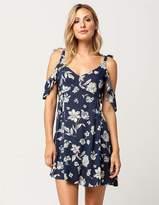 Full Tilt Floral Ties Dress