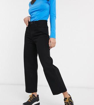 Monki Mozik wide leg jeans with organic cotton in black