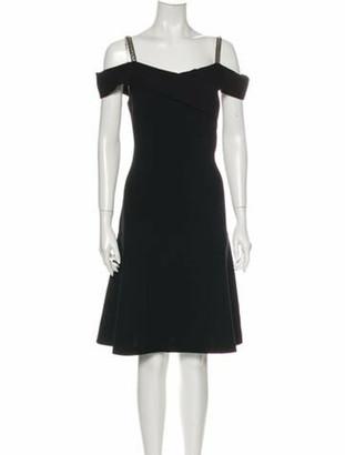Emilio Pucci Virgin Wool Knee-Length Dress Wool