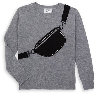 Autumn Cashmere Girl's Fannypack Sweater