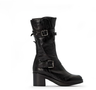 Mjus Bounty Leather Buckled Boots