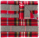 Comme des Garcons checked scarf