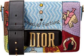 Christian Dior Dio(R)Evolution Embroidered Shoulder Bag