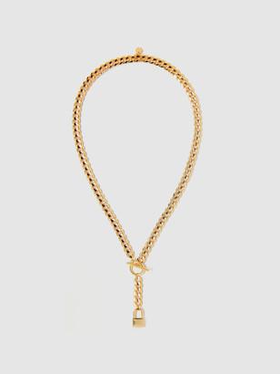 Tess + Tricia Lock Lariat Necklace