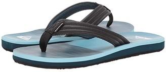 Quiksilver Carver Print (Black/Blue/White) Men's Sandals