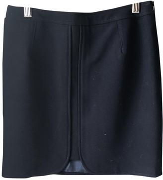 Comptoir des Cotonniers Navy Cotton - elasthane Skirt for Women