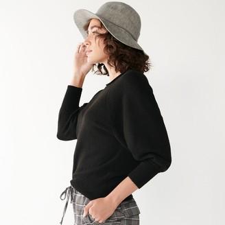 Nine West Women's Control-Waist Raglan Sweater