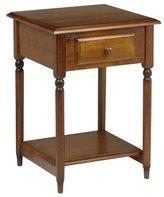 Office Star Osp Designs Kh17 Knob Hill Accent Living Room End Table In Antique Cherry