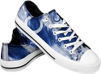 Women's Indianapolis Colts Tie-Dye Canvas Shoe