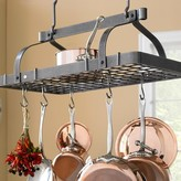 Enclume Grande Cuisine Rectangular Ceiling Pot Rack