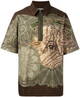 Givenchy multi-print polo shirt - men - Cotton - 38