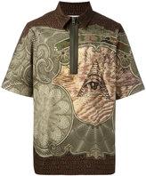 Givenchy multi-print polo shirt - men - Cotton - 39