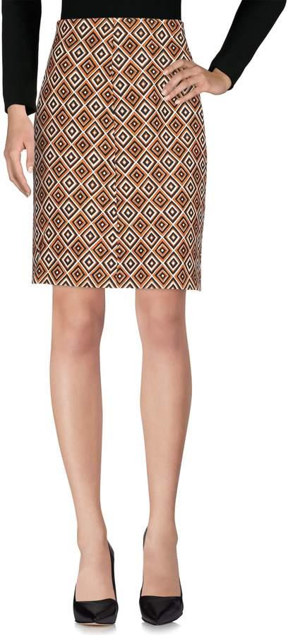 Prada Knee length skirts - Item 35376090HA