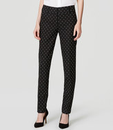 LOFT Petite Diamond Dot Essential Skinny Ankle Pants in Marisa Fit