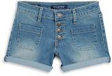 Vigoss Girls 7-16 Girls Denim Memory Shorts