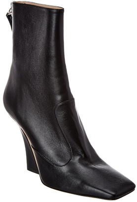 Fendi Leather Bootie