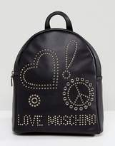 Love Moschino Studded Back Pack