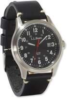 L.L. Bean Vintage Field Watch, 42mm Leather