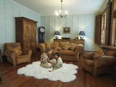 The Well Appointed House Sexto Modern Country Sheepskin Rug-Available In Different Colors