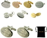 Select Gifts Gold Chain From This Day Forward Cufflinks~Engraved Cuff links with Black Pouch