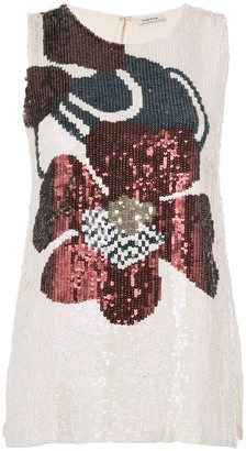 P.A.R.O.S.H. Sequin Embroidery Top