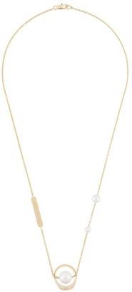 Maison Margiela faux-pearl detailed necklace
