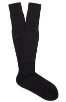 Falke N°6 wool and silk-blend knee-high socks