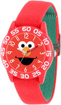 Sesame Street Boys Red Time Teacher Strap Watch W003145