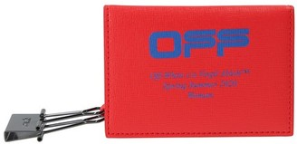 Off-White Off White OFF card holder