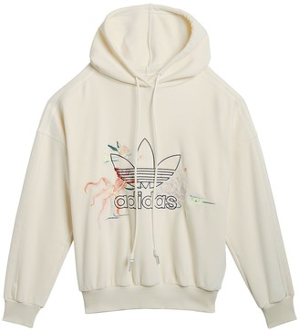 adidas x Angel Chen embroidered logo hoodie
