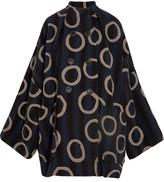 Vivienne Westwood Joan Printed Cotton-blend Coat - L/XL