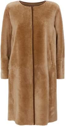 Fabiana Filippi Reversible Shearling Coat