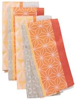 Garnier Thiebaut Geometric Cotton Napkins (Set of 4)