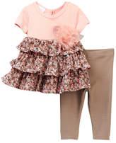 Iris & Ivy Knit Mesh Tiers Set (Baby Girls 0-9M)