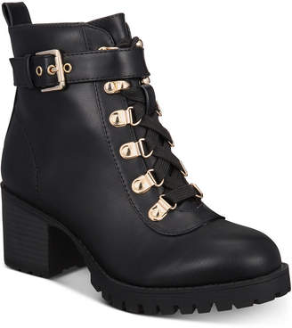 Material Girl Women Hillari Booties, Women Shoes