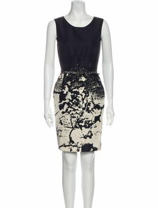 Oscar de la Renta 2011 Mini Dress Black